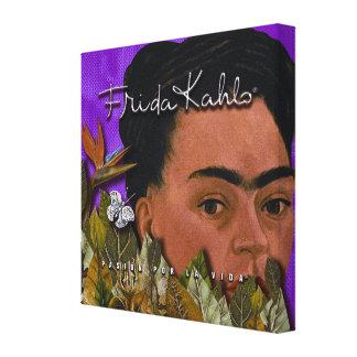 La Vida 2 de Frida Kahlo Pasion Por Lienzo Envuelto Para Galerias