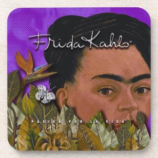 La Vida 2 de Frida Kahlo Pasion Por Posavasos De Bebida