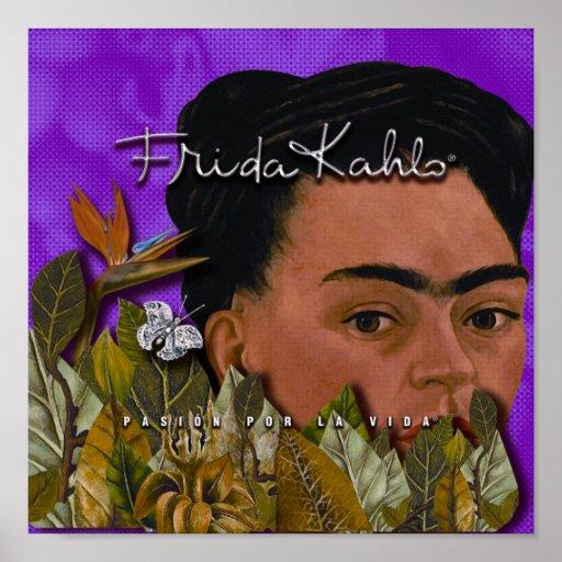 La Vida 2 de Frida Kahlo Pasion Por Póster