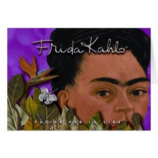 La Vida 2 de Frida Kahlo Pasion Por Tarjeta De Felicitación