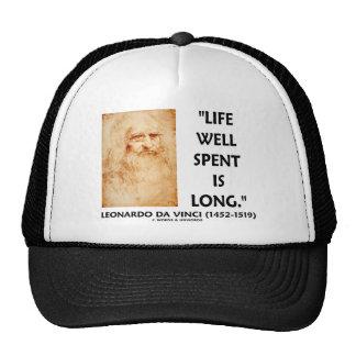 La vida bien empleada es larga (la cita de Leonard Gorro