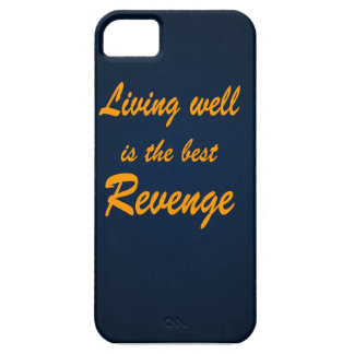 La vida bien es la mejor venganza iPhone 5 funda