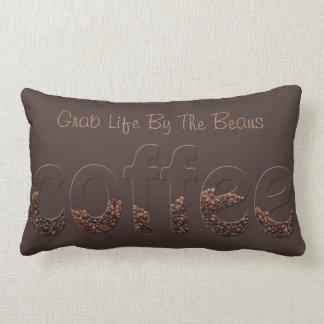 La vida comienza después de que café - asga la vid cojin
