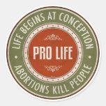 La vida comienza en el concepto etiqueta