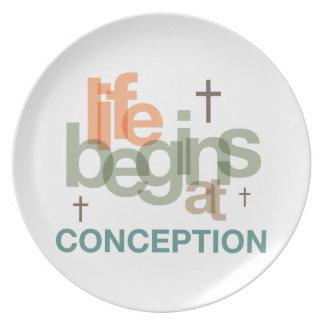 La vida comienza en el concepto