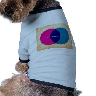 La vida comienza en el concepto ropa para mascota