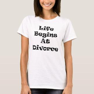 La vida comienza en el divorcio playera