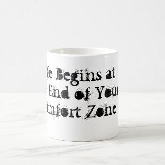 La vida comienza en el extremo de su taza de la zo