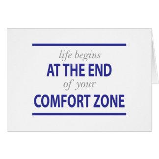 La vida comienza en el final de su zona de comodid