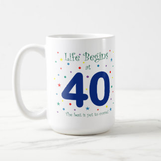 La vida comienza en la taza 40