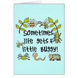 La vida consigue con errores tarjetas