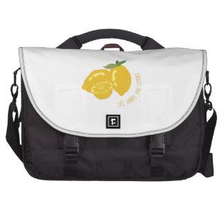 La vida da los limones bolsas de portátil