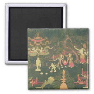 La vida de Buda Shakyamuni Imán Cuadrado