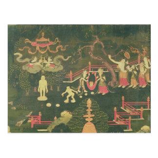 La vida de Buda Shakyamuni Postal