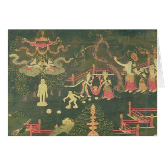 La vida de Buda Shakyamuni Tarjeta De Felicitación
