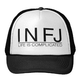 La vida de INFJ es complicada Gorros Bordados