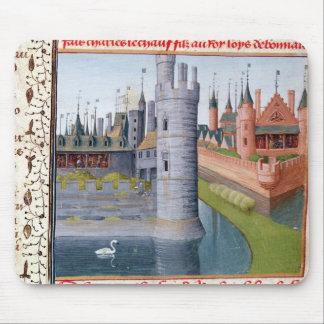 La vida de Louis II 'el Stammerer Mousepad