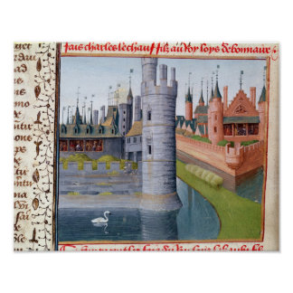La vida de Louis II 'el Stammerer Poster