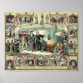 La vida de Martin Luther Poster