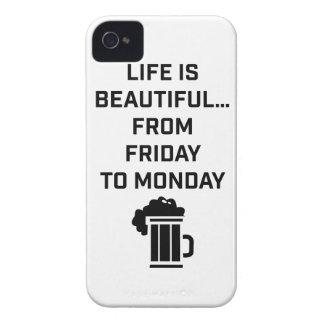 La vida de Wellcoda es fin de semana hermoso del iPhone 4 Protectores
