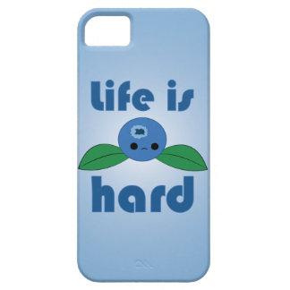 La vida del arándano de Kawaii es caso duro del Funda Para iPhone 5 Barely There