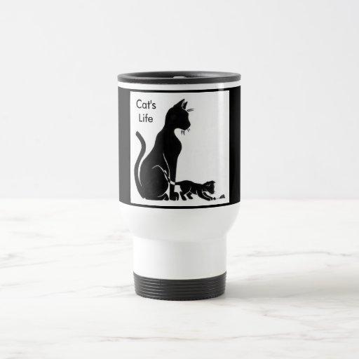 La vida del gato tazas