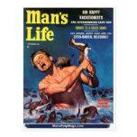 ¡La vida del hombre, sept. de 1956 - las comadreja Tarjetas Postales