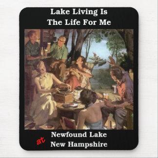 La vida del lago es la vida para mí mouse pad