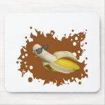 La vida del plátano es buena alfombrilla de ratón