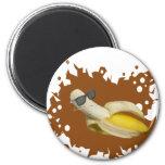 La vida del plátano es buena imanes