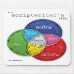 La vida del Scriptwriter Tapete De Raton