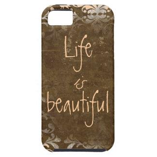 La vida del vintage es caso hermoso del iphone 5 iPhone 5 cobertura