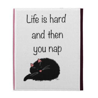 La vida difícilmente y después está usted siesta