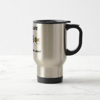 La vida el descifrar es sobre cuál está la genétic tazas de café