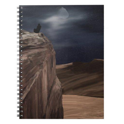 La vida encendido estropea (la tierra) cuaderno