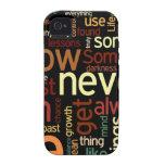 La vida enrrollada redacta el caso del iPhone 4/4S Case-Mate iPhone 4 Funda