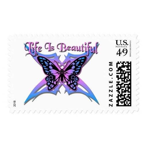 La vida es #2 hermoso sello