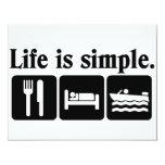 La vida es canotaje simple anuncios