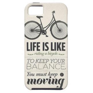 La vida es como montar una caja de Iphone 5 de la  iPhone 5 Case-Mate Fundas