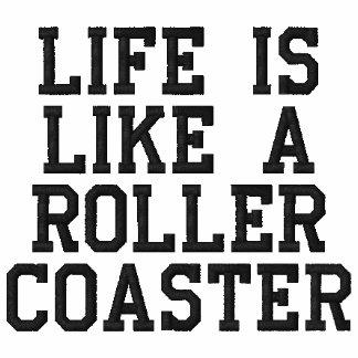 La vida es como una montaña rusa
