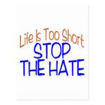 La vida es corta postales