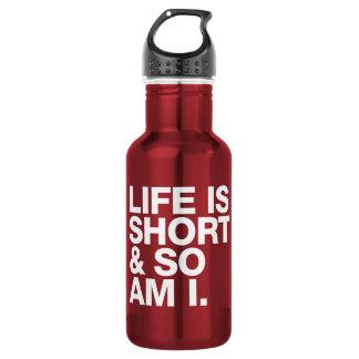 La vida es corta y así que es yo cita divertida