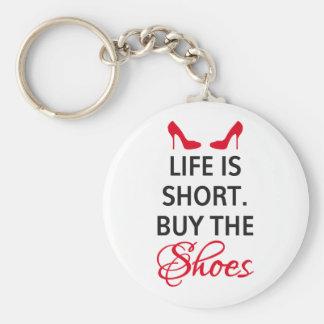 La vida es cortocircuito, compra los zapatos llavero redondo tipo pin
