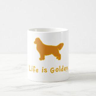 La vida es de oro taza