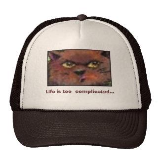 La vida es demasiado complicada… gorra