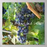 ¡La vida es demasiado corta… beber el mún vino! Impresiones