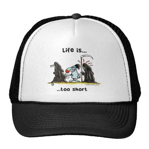 La vida es demasiado corta gorro de camionero