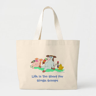 La vida es demasiado corta para las solas cucharad bolsa de mano