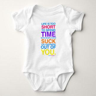 La vida es demasiado corta tshirts