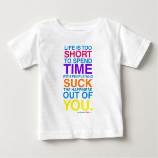 La vida es demasiado corta t shirt